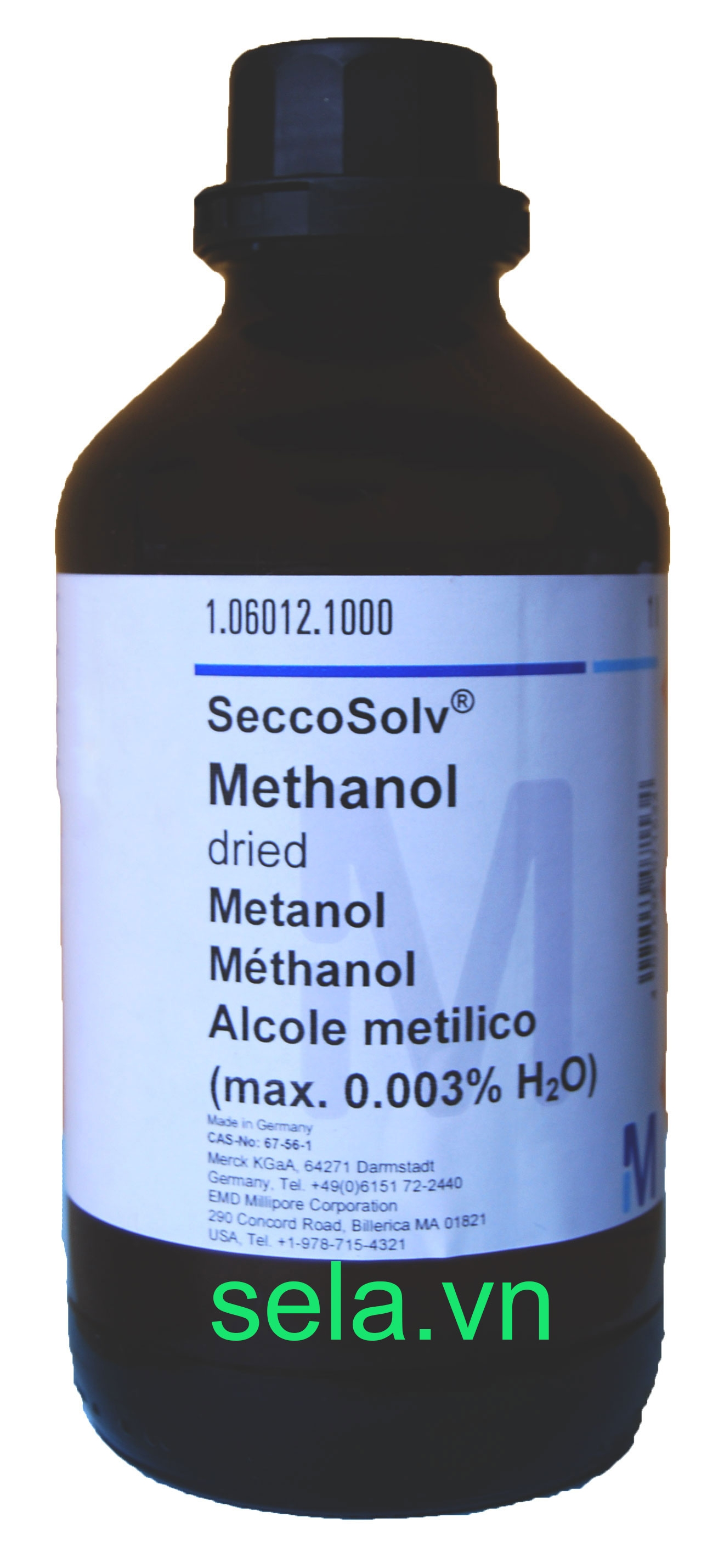 Methanol dried (max. 0.003% H₂O) SeccoSolv®