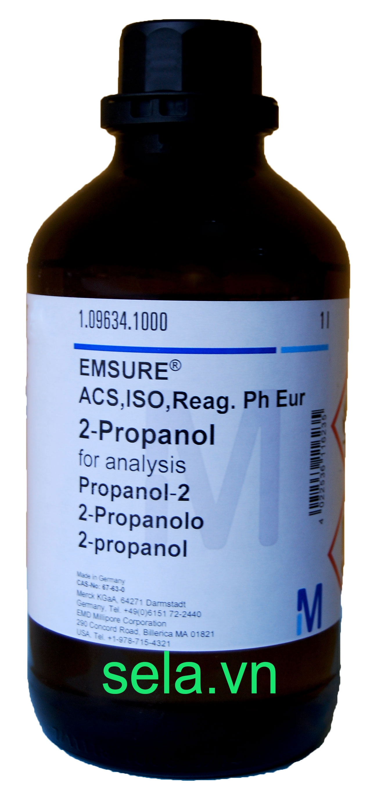 2-Propanol for analysis EMSURE® ACS,ISO,Reag. Ph Eur