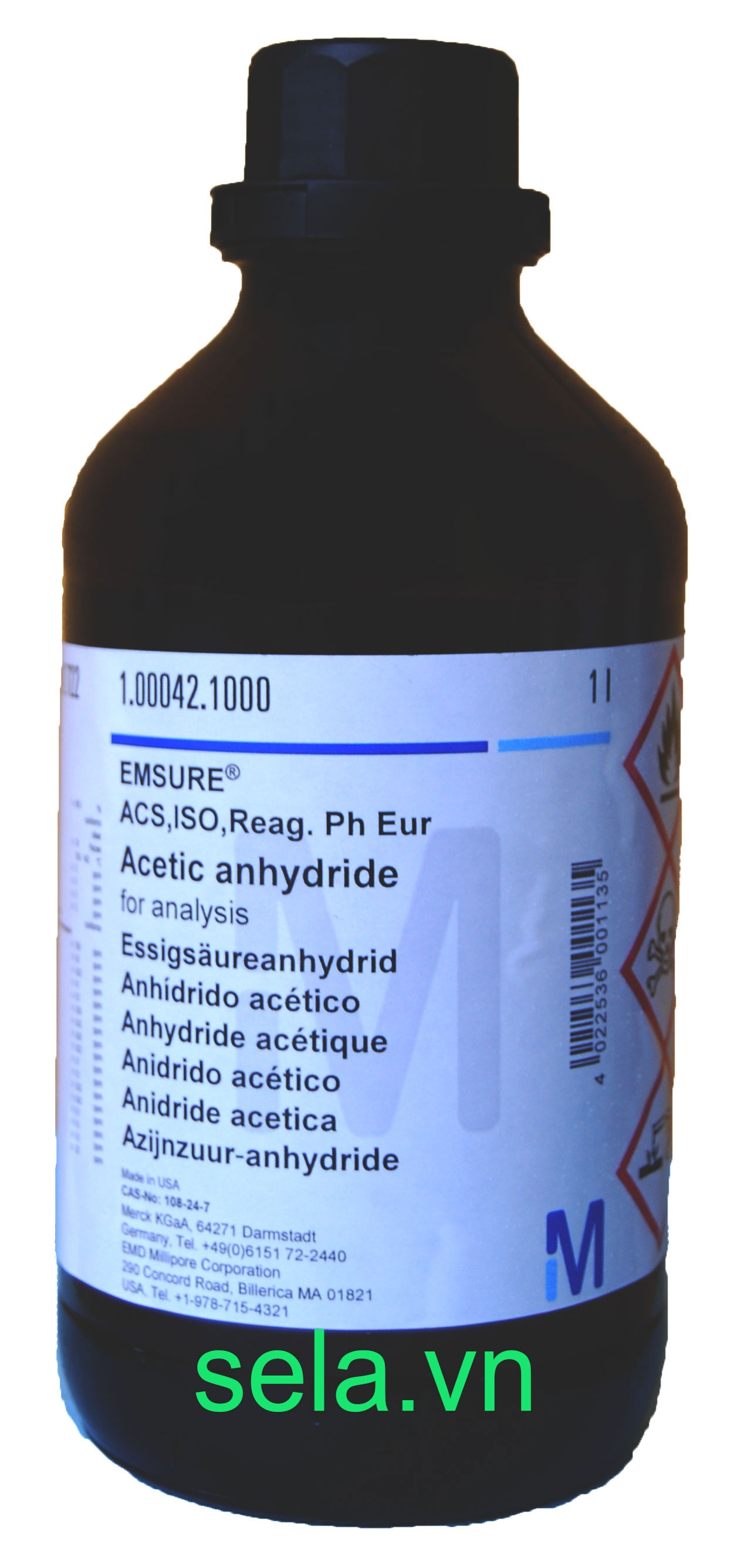 Acetic anhydride for analysis EMSURE® ACS,ISO,Reag. Ph Eur