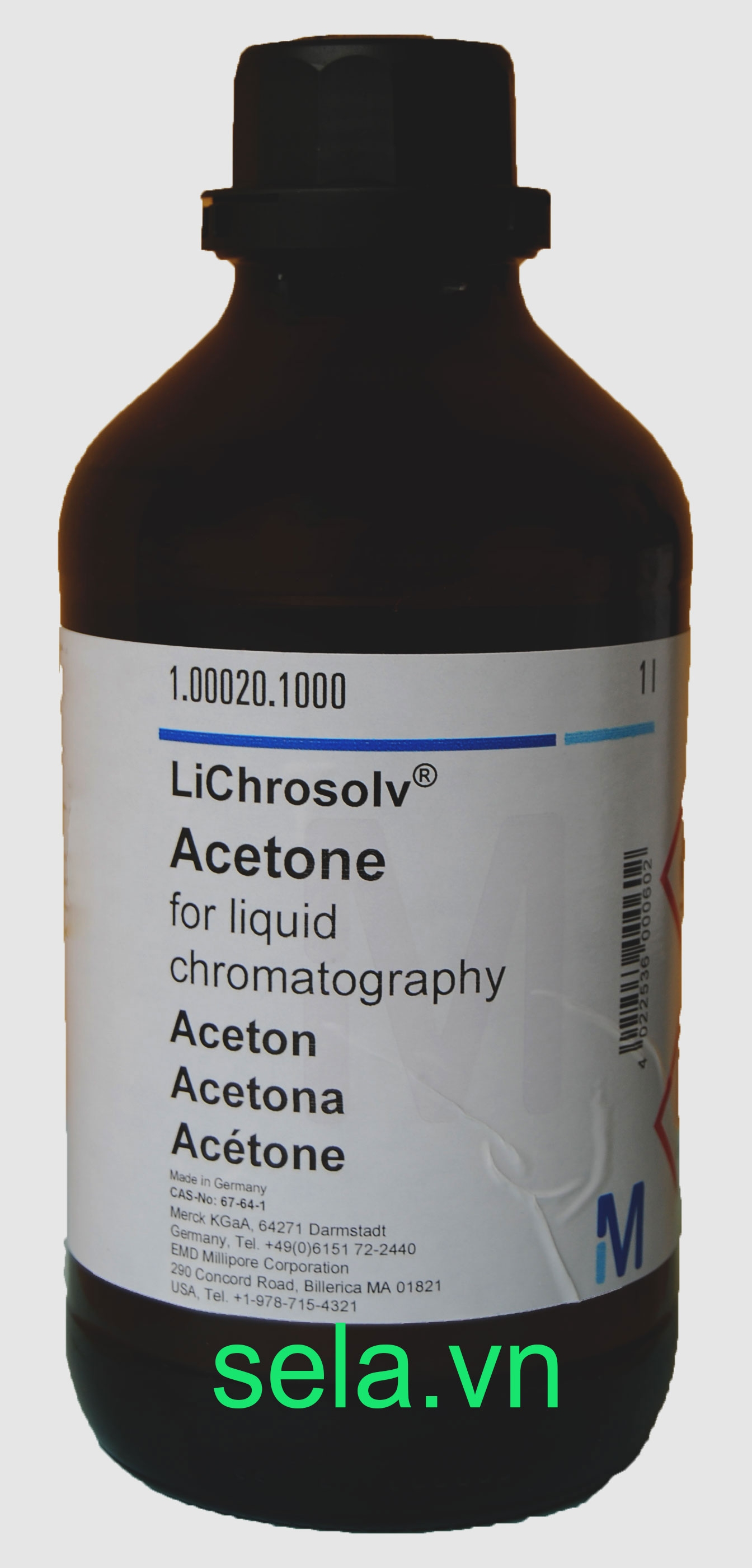 Acetone for liquid chromatography LiChrosolv®