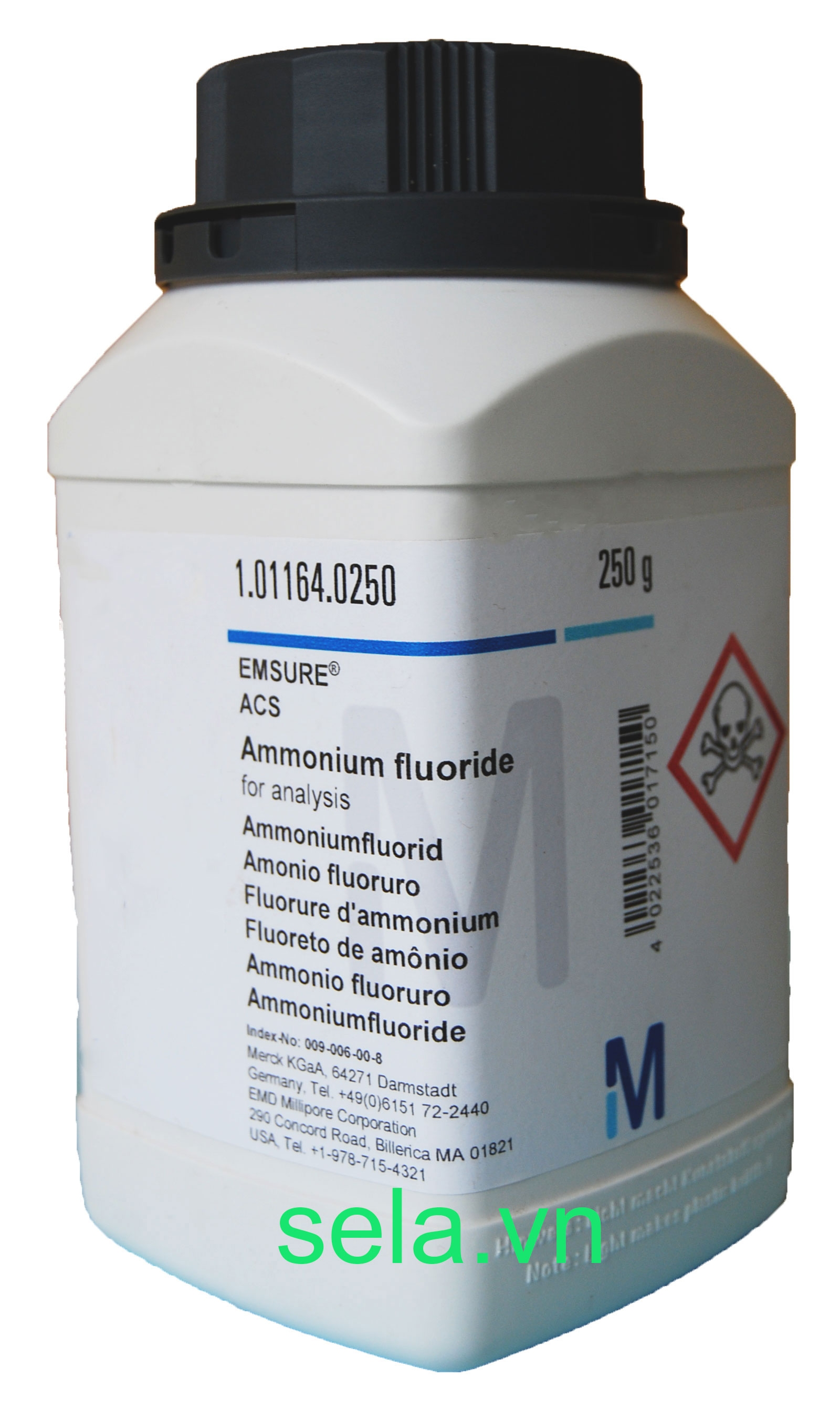 Ammonium fluoride for analysis EMSURE® ACS