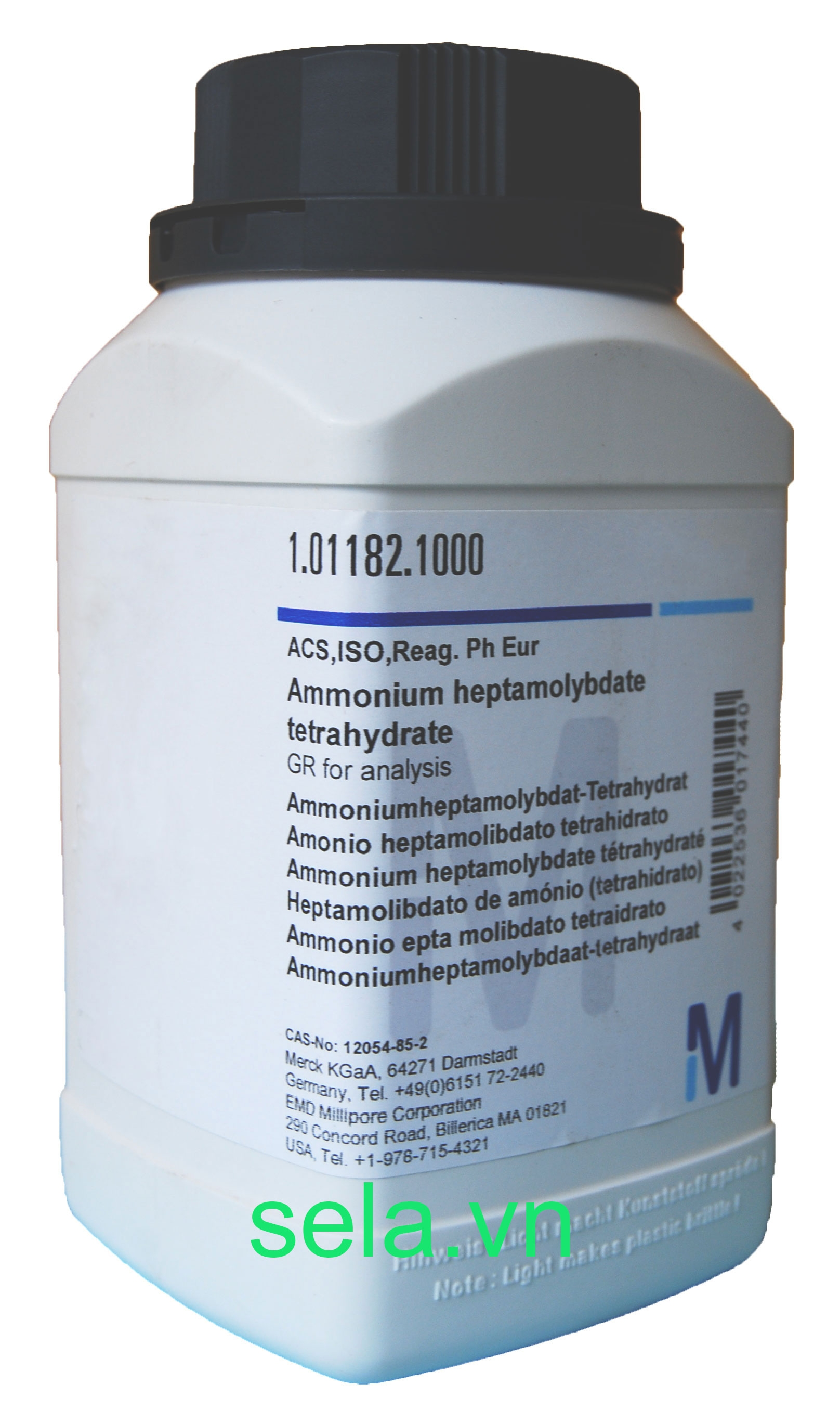 Ammonium heptamolybdate tetrahydrate GR for analysis