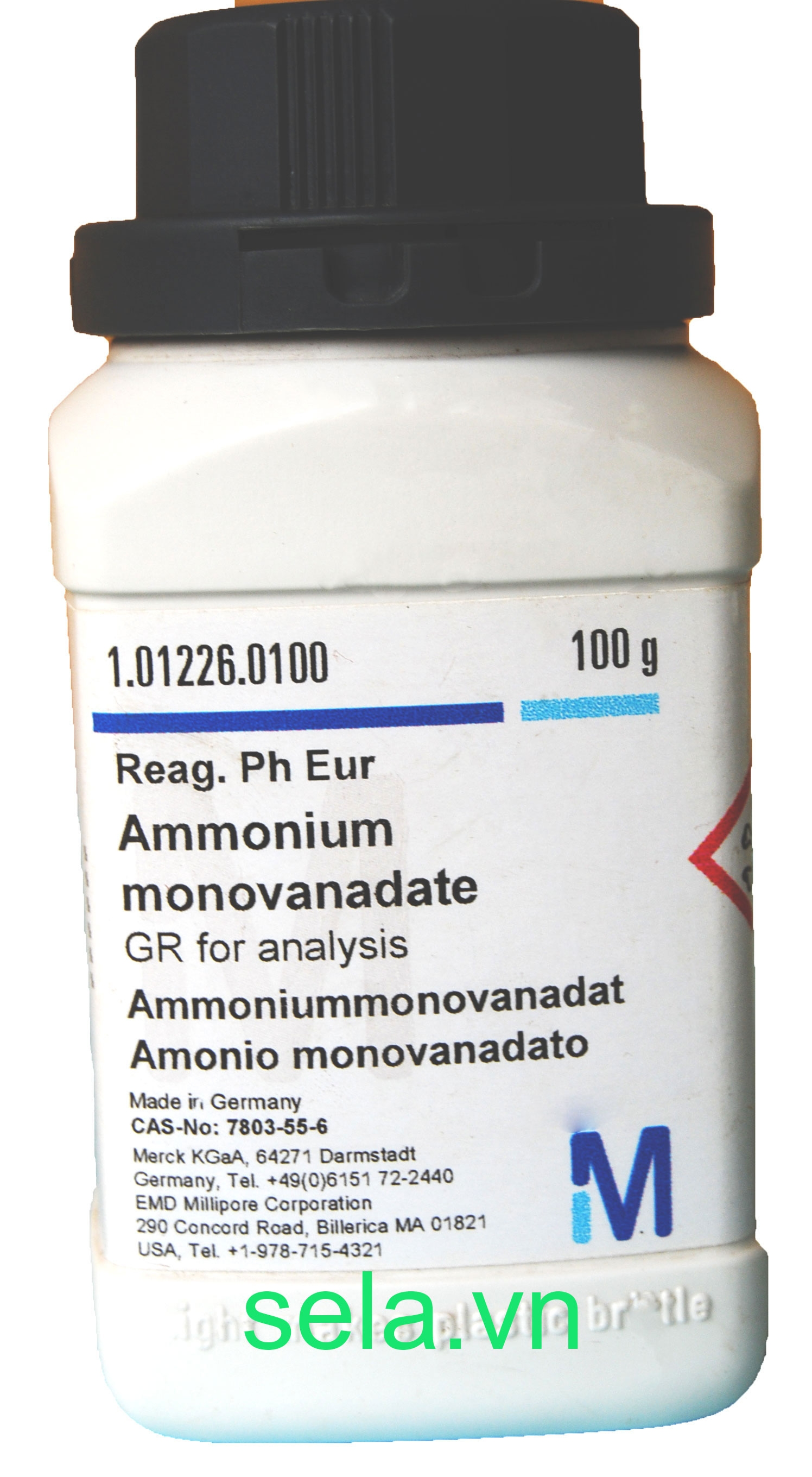Ammonium monovanadate GR for analysis Reag. Ph Eur