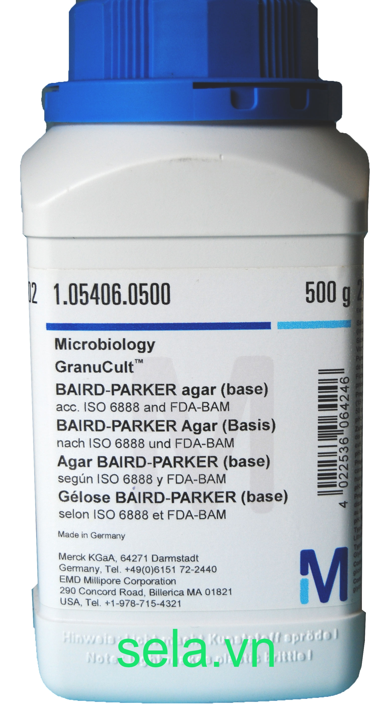 BAIRD-PARKER agar (base) acc. ISO 6888 and FDA-BAM
