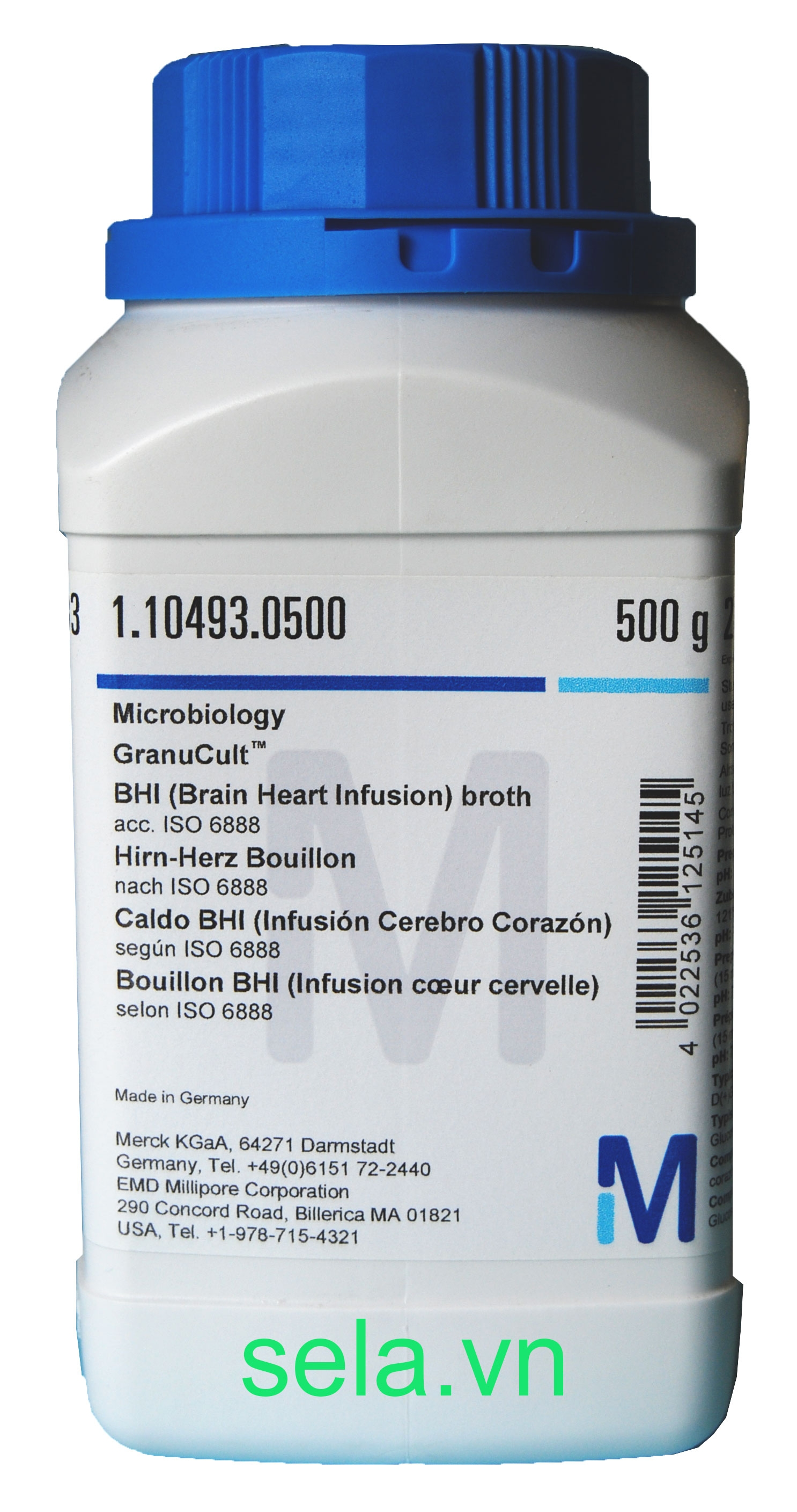 BHI (Brain Heart Infusion) broth acc. ISO 6888 GranuCult™