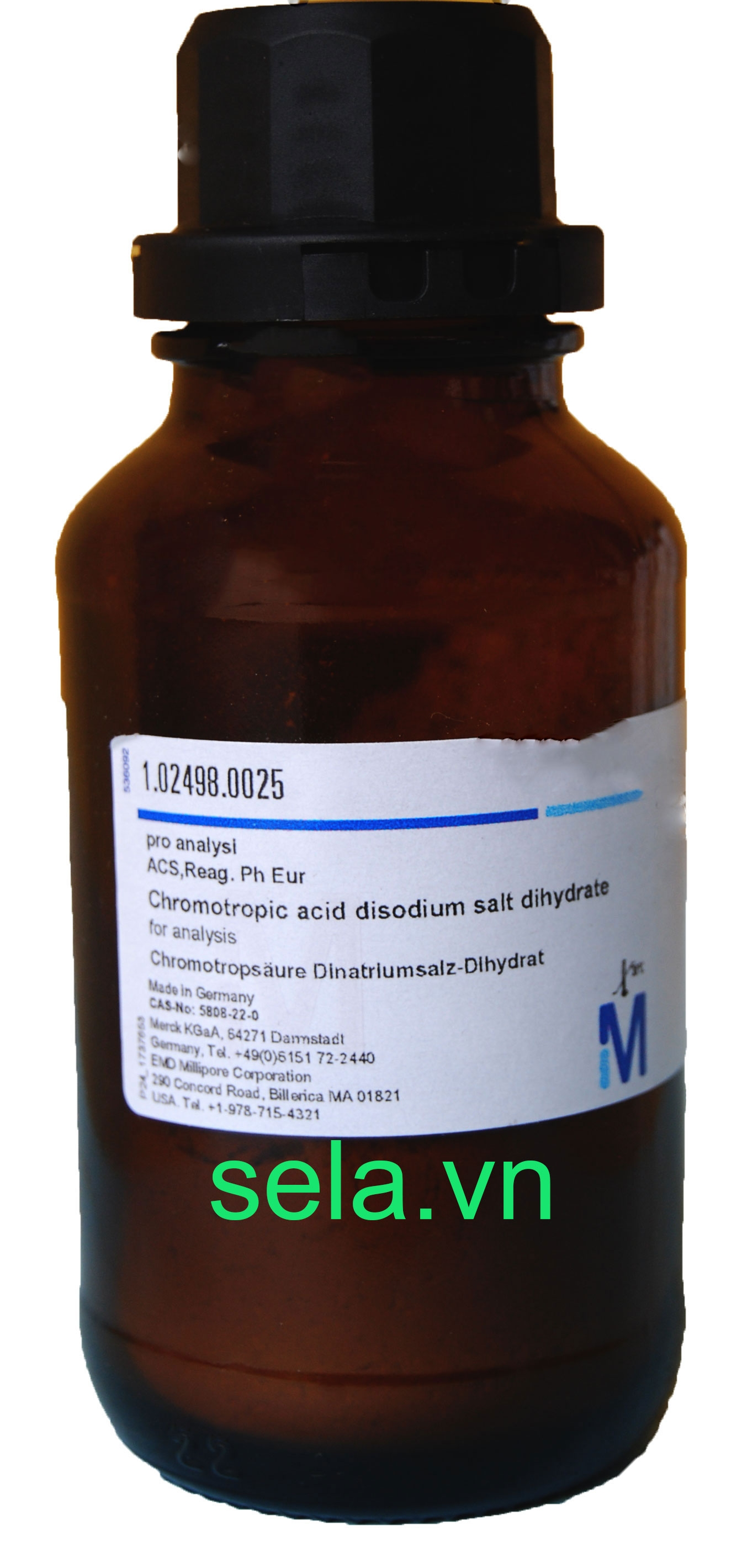 Chromotropic acid disodium salt dihydrate for analysis ACS,Reag. Ph Eur