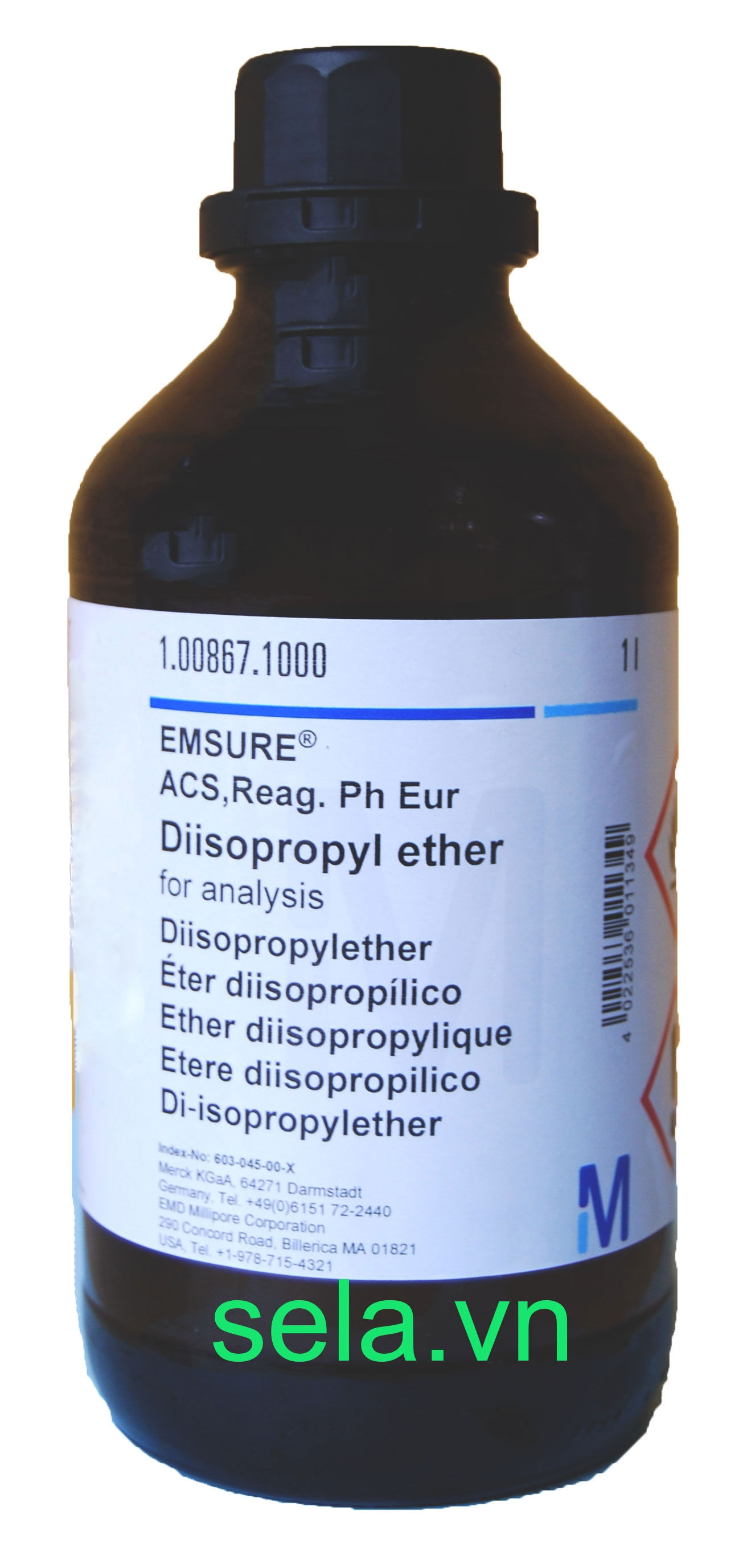 Diisopropyl ether for analysis EMSURE® ACS,Reag. Ph Eur
