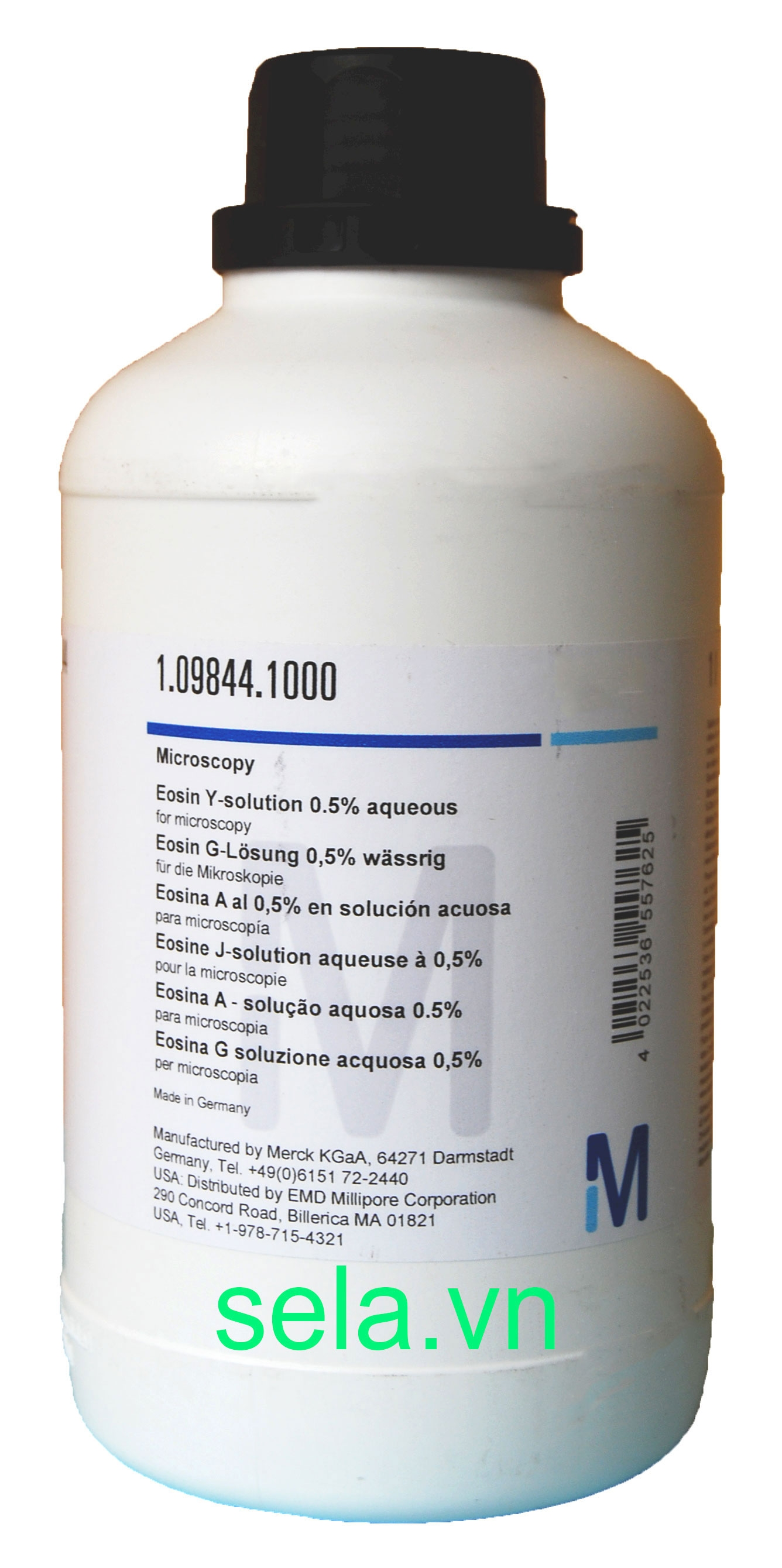 Eosin Y-solution 0.5% aqueous for microscopy