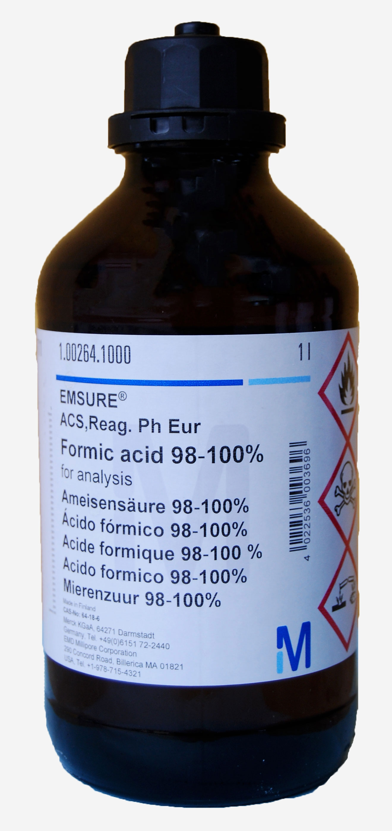 Formic acid 98-100% for analysis EMSURE® ACS,Reag. Ph Eur