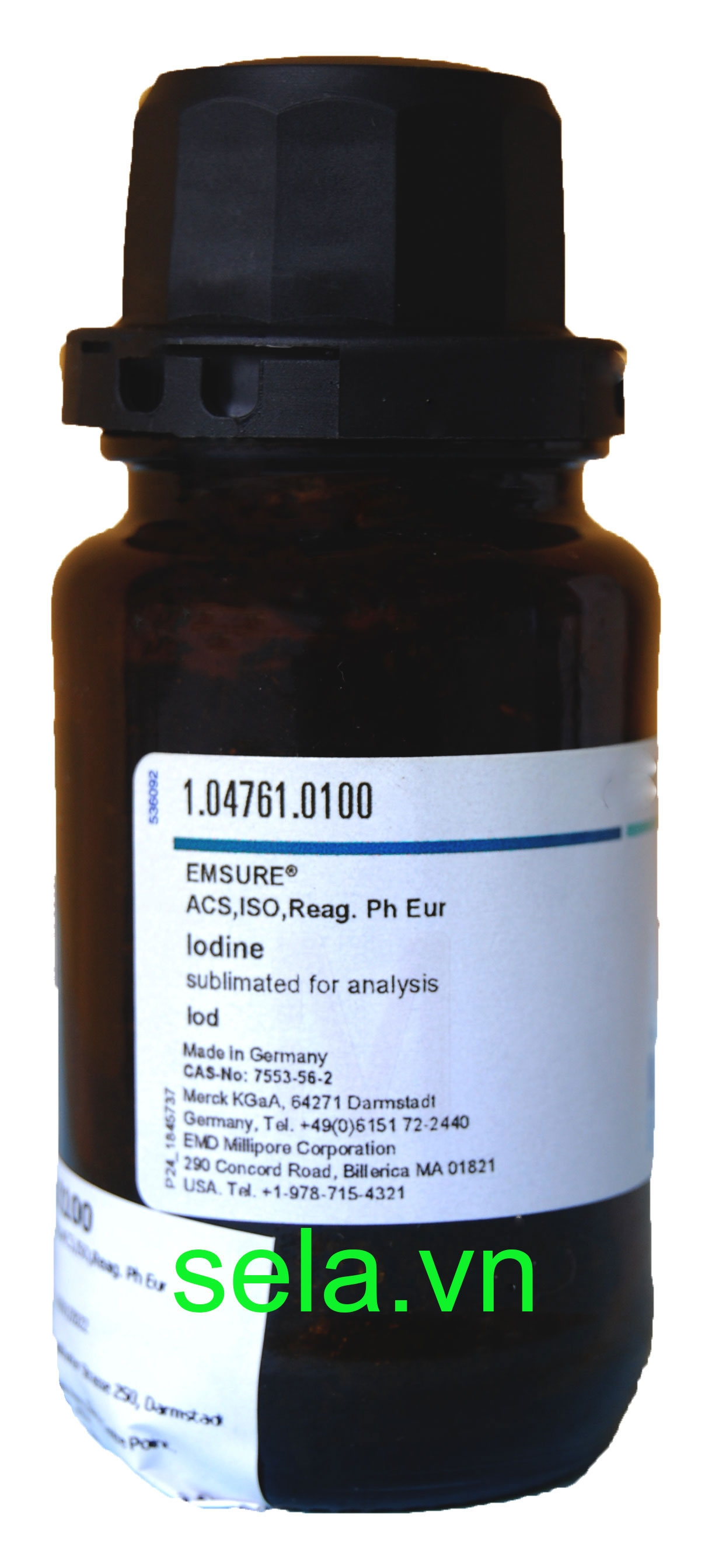 Iodine sublimated for analysis EMSURE® ACS,ISO,Reag. Ph Eur