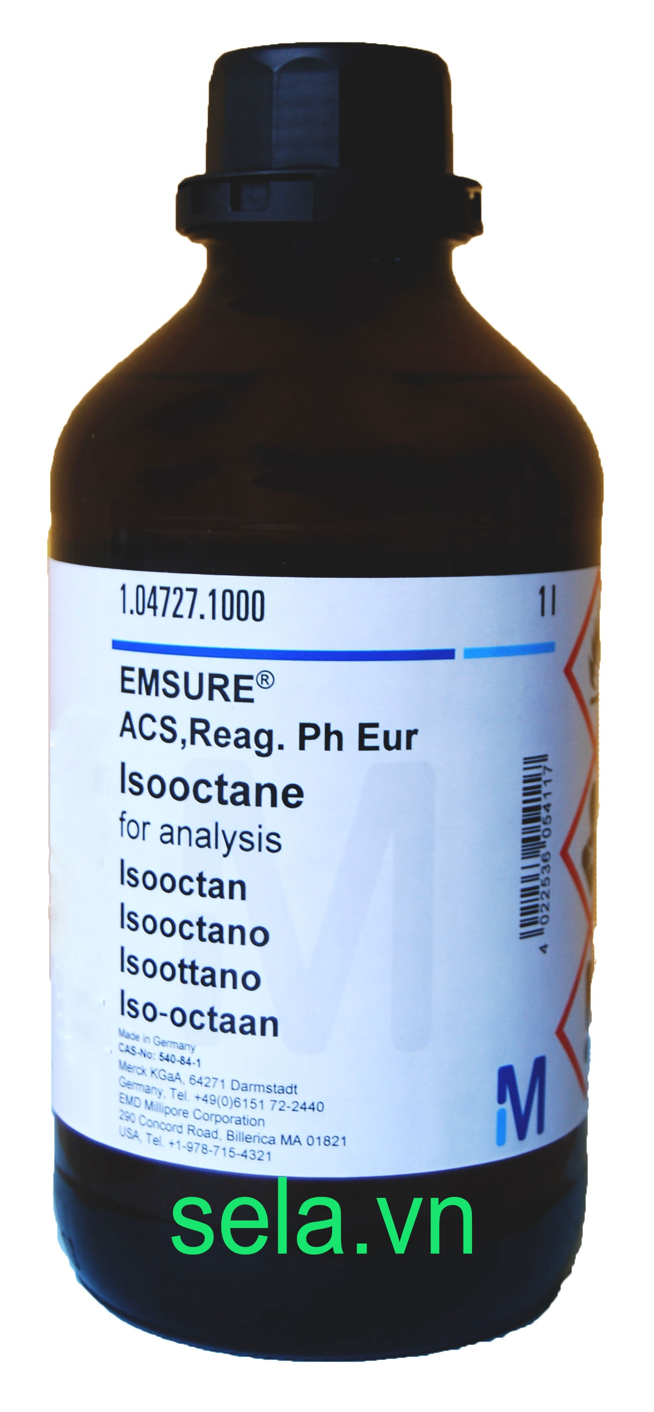 Isooctane for analysis EMSURE® ACS,Reag. Ph Eur