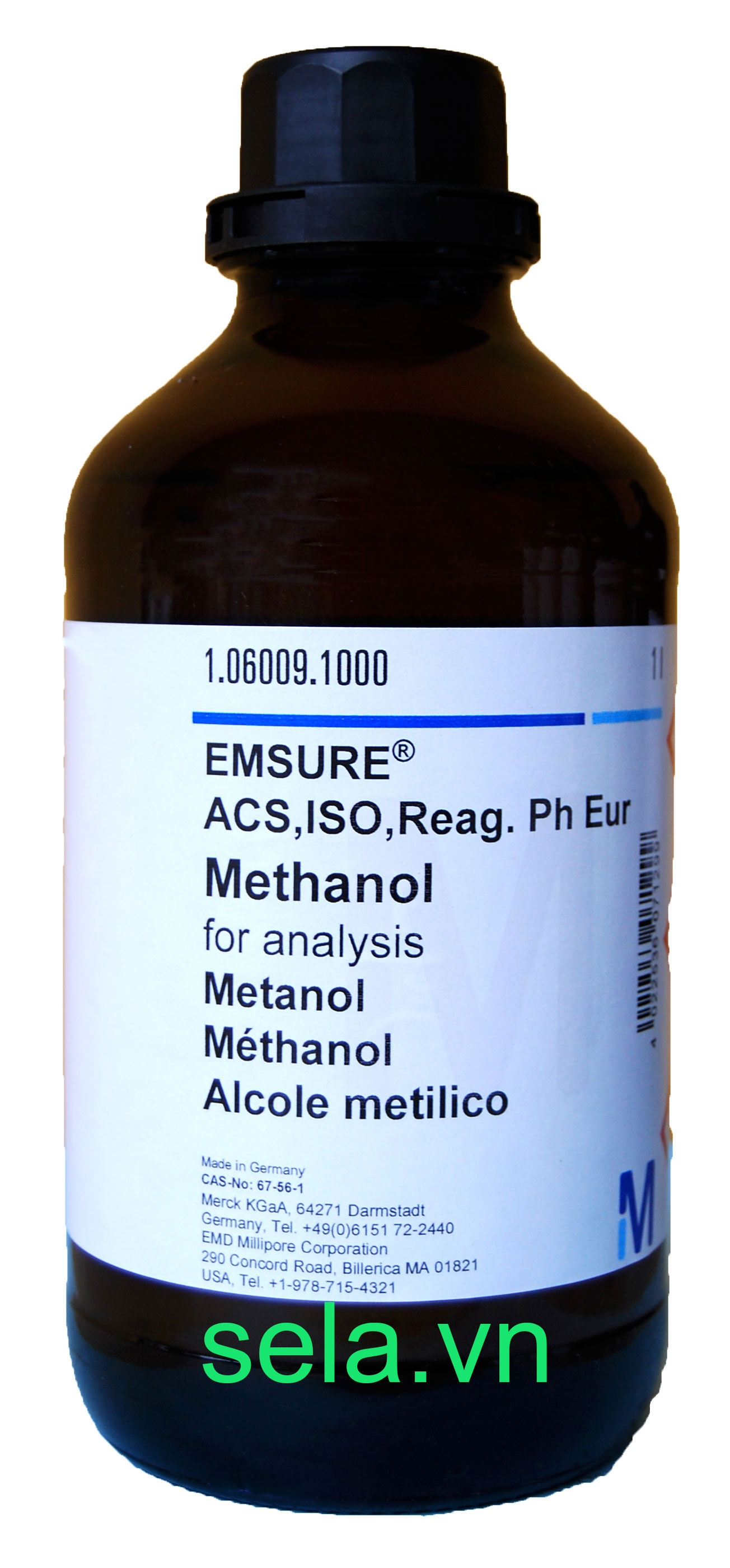Methanol for analysis EMSURE® ACS,ISO,Reag.Ph Eur