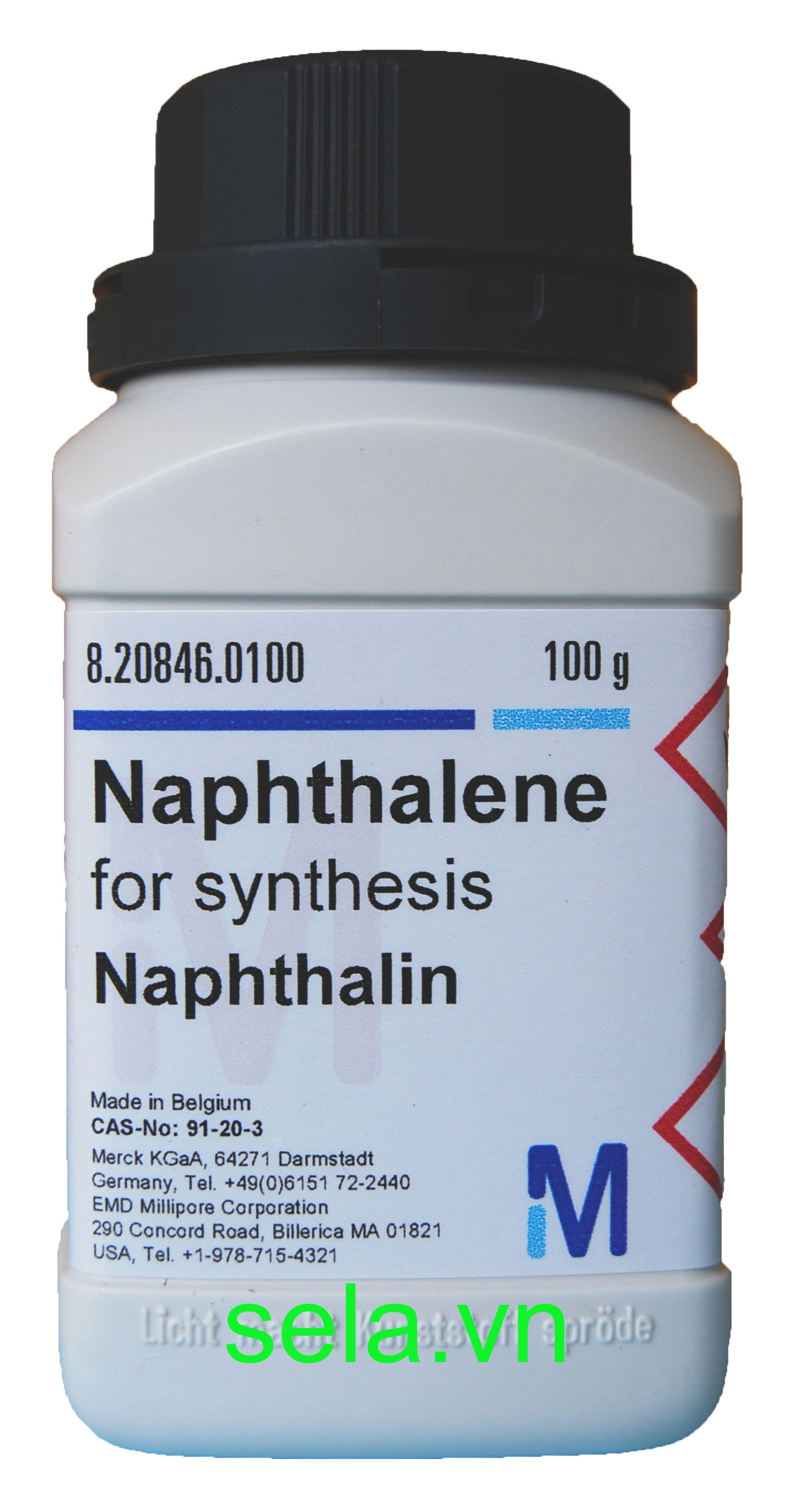 Naphthalene for synthesis