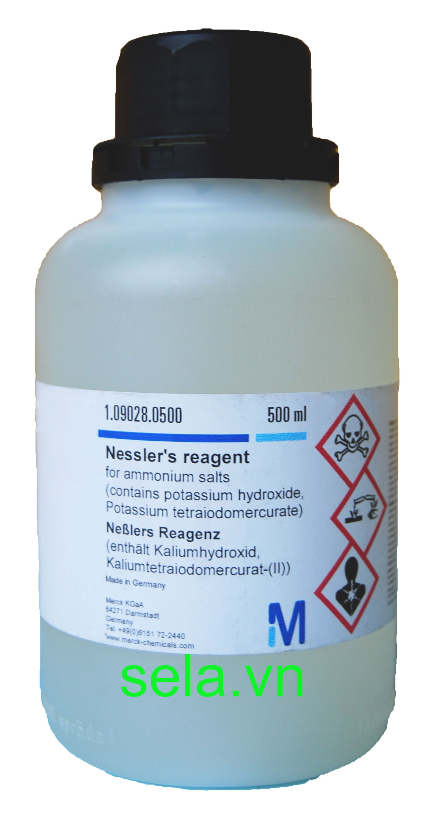 Nessler's reagent for ammonium salts