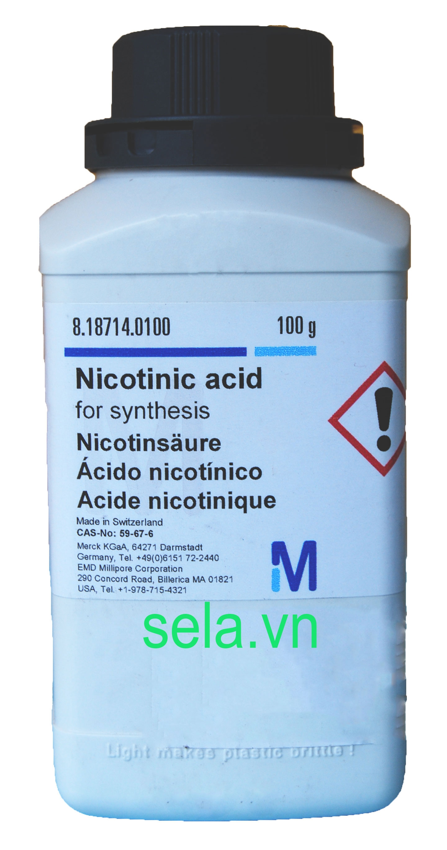 Nicotinic acid for synthesis