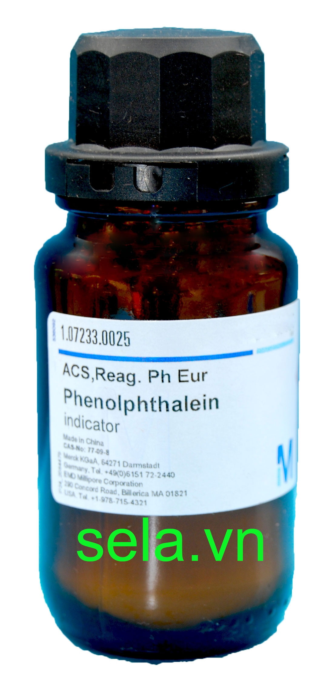Phenolphthalein indicator ACS,Reag. Ph Eur