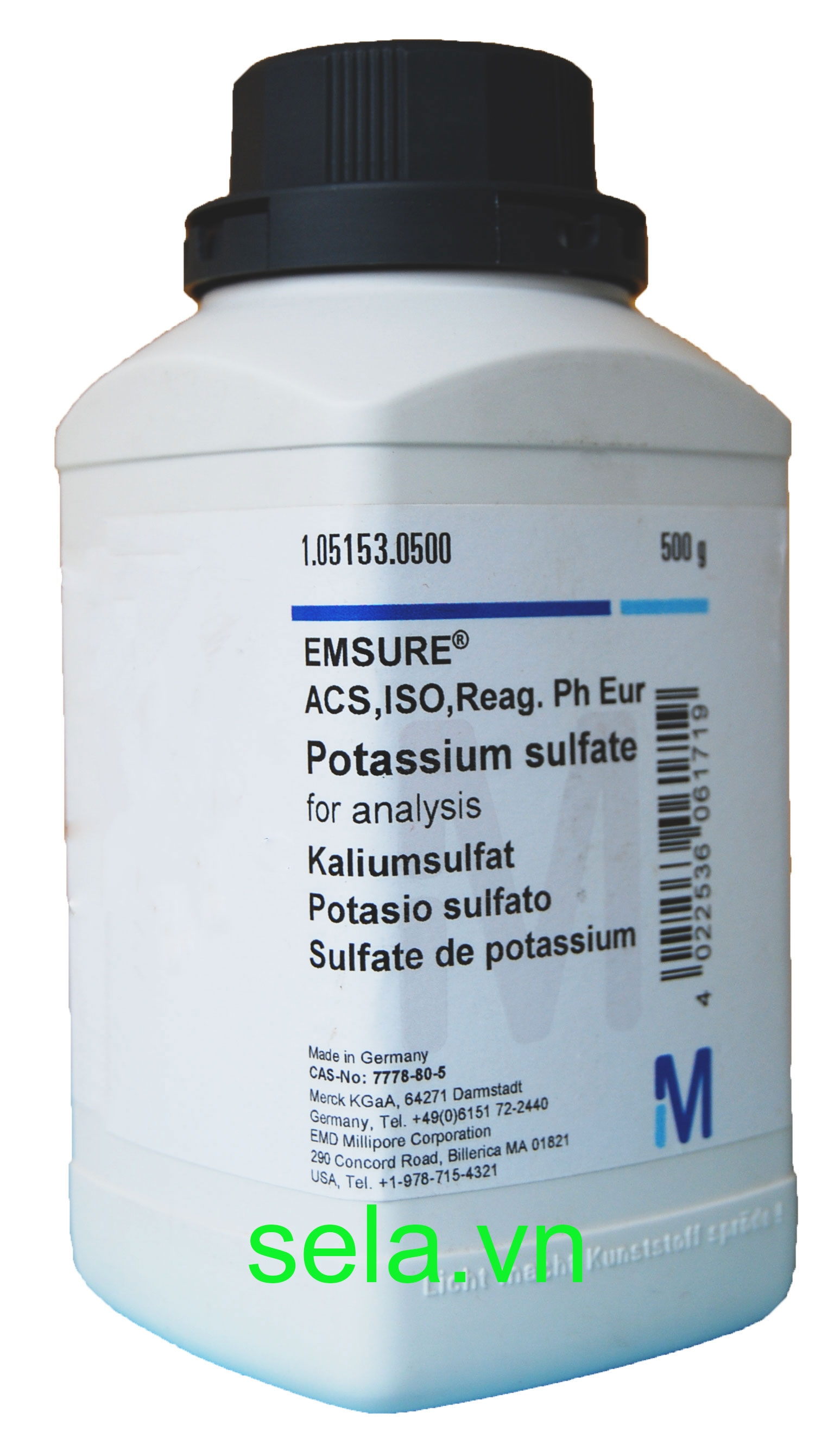 Potassium sulfate for analysis EMSURE® ACS,ISO,Reag. Ph Eur