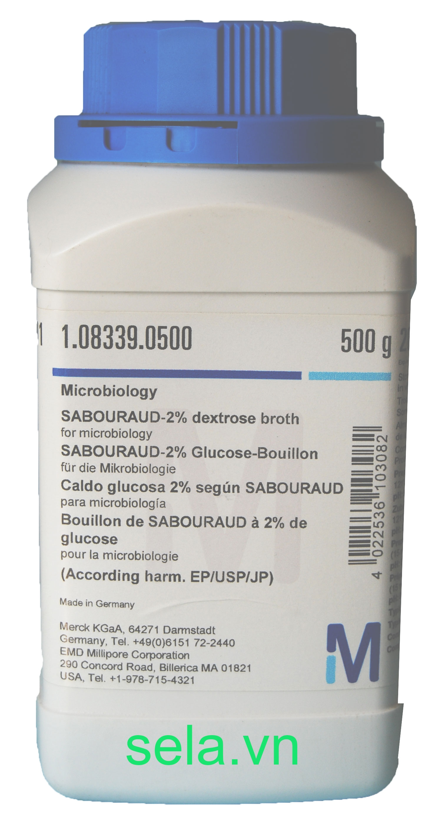 SABOURAUD-2% dextrose broth for microbiology (According harm. EP/USP/JP)