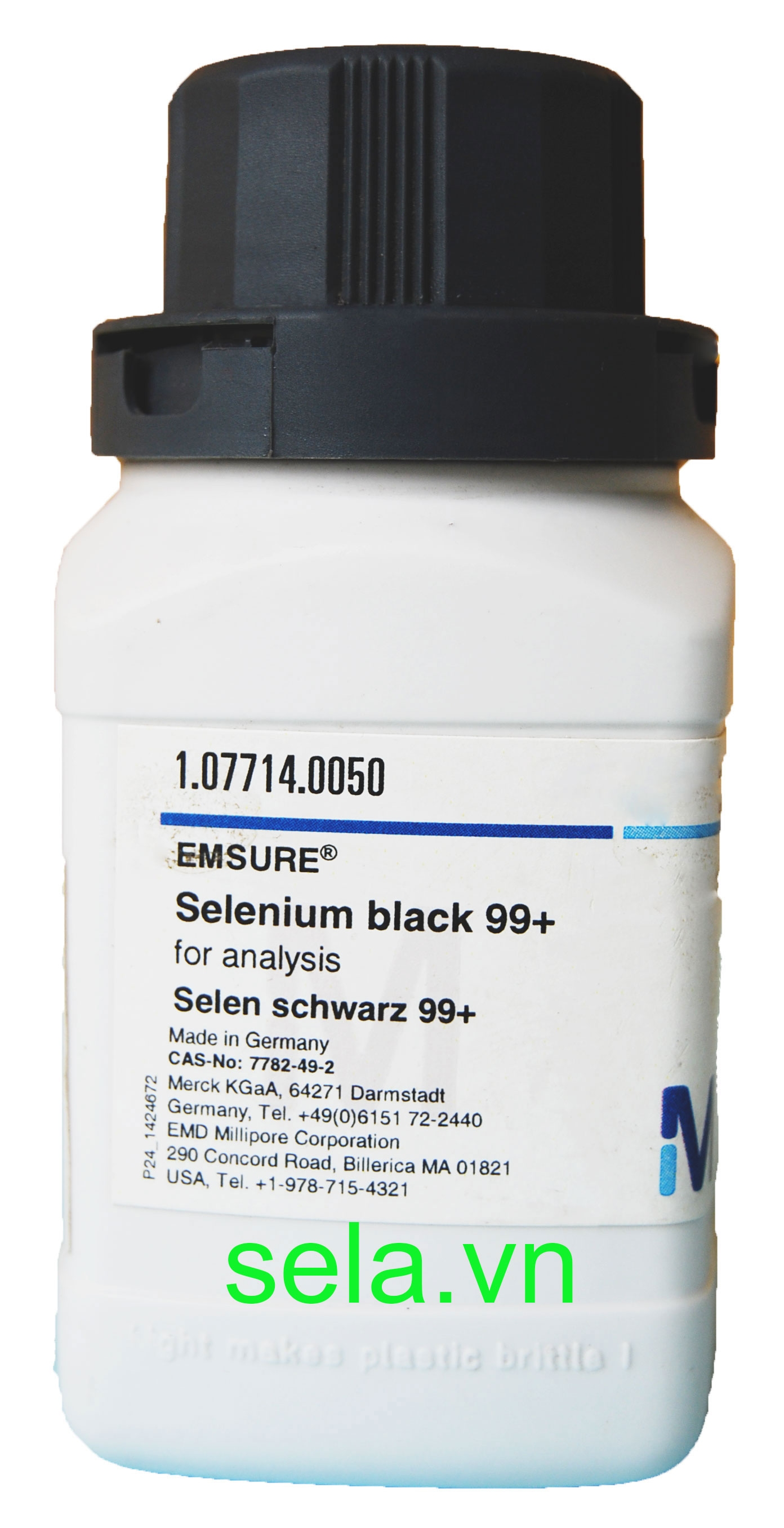Selenium black 99+ for analysis EMSURE®