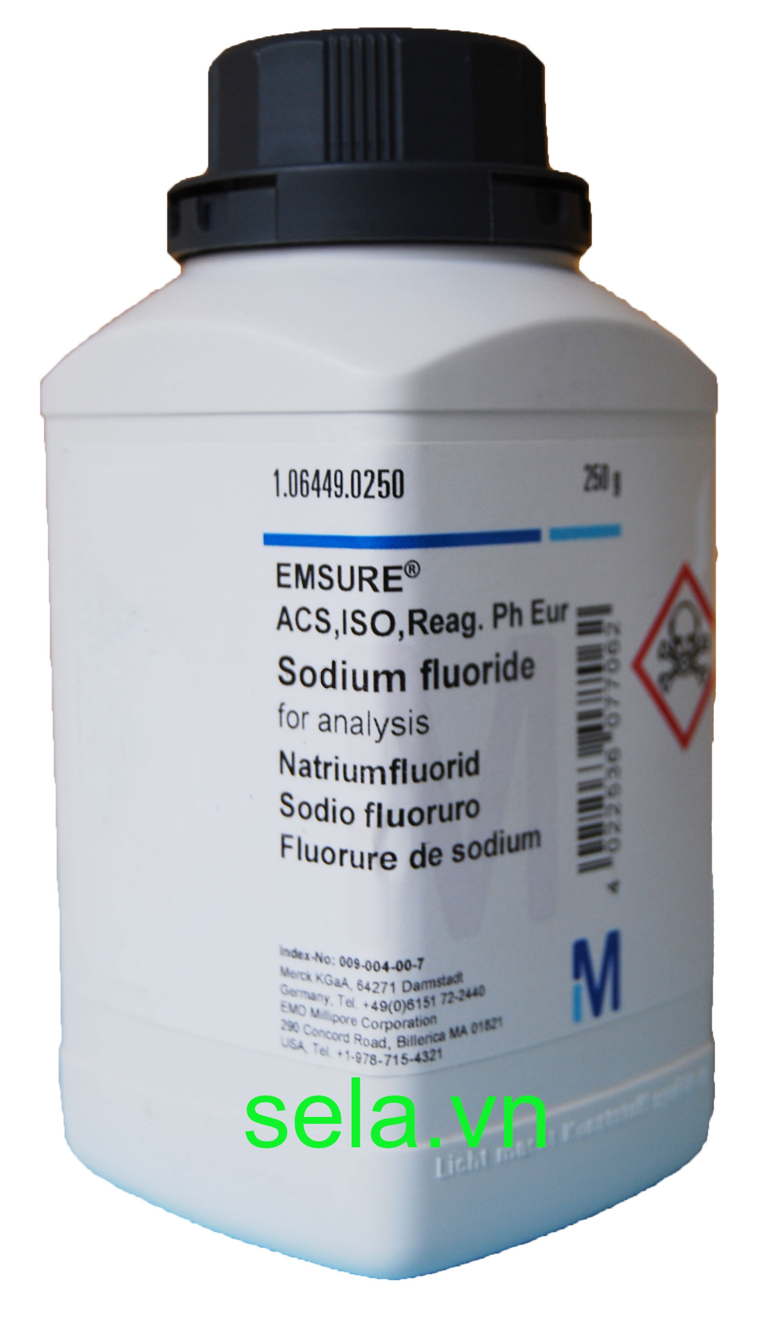 Sodium fluoride for analysis EMSURE® ACS,ISO,Reag. Ph Eur