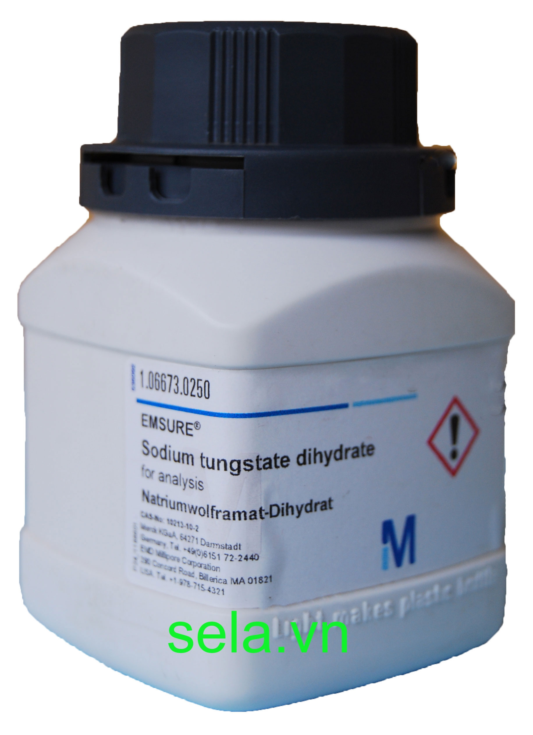 Sodium tungstate dihydrate for analysis EMSURE®