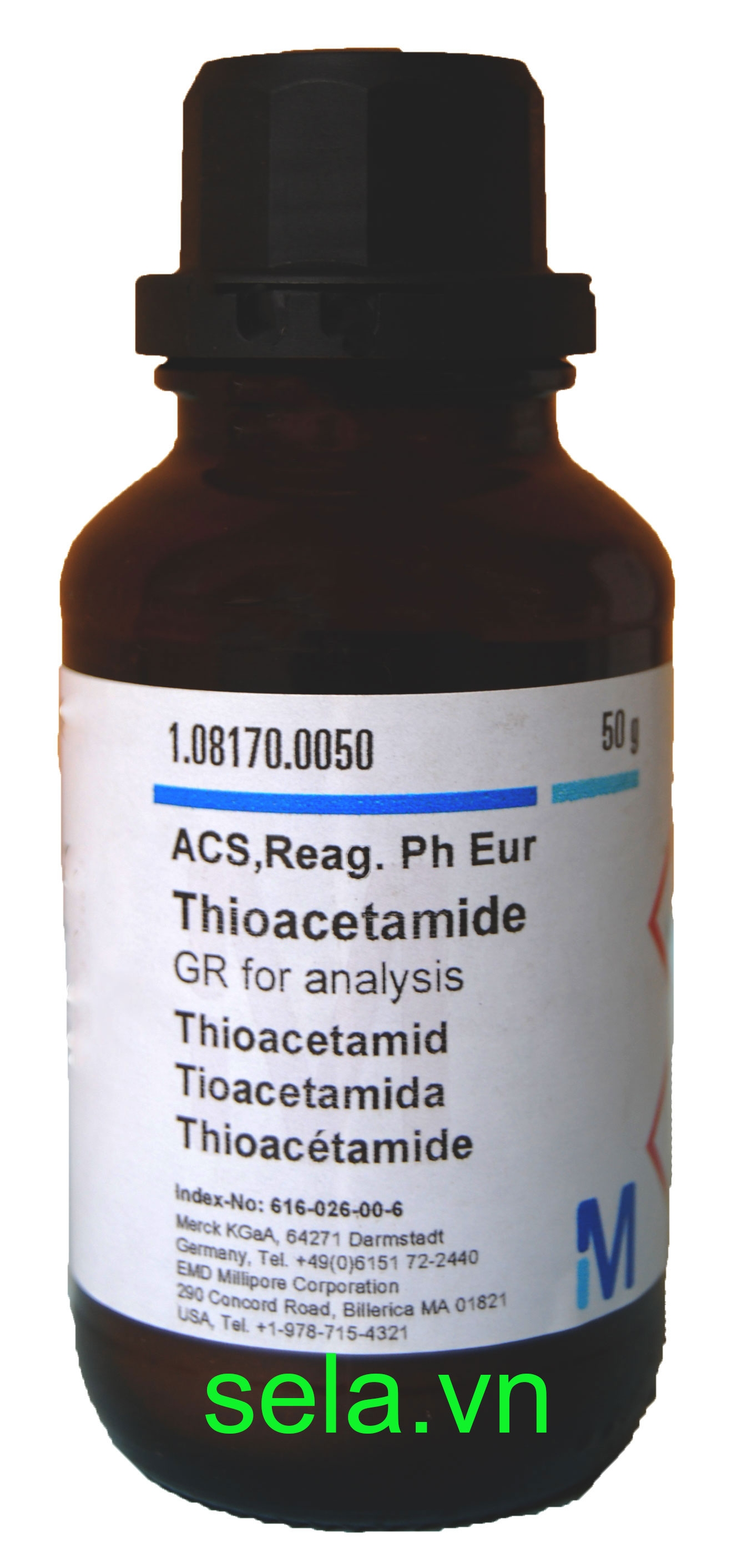 Thioacetamide GR for analysis ACS,Reag. Ph Eur