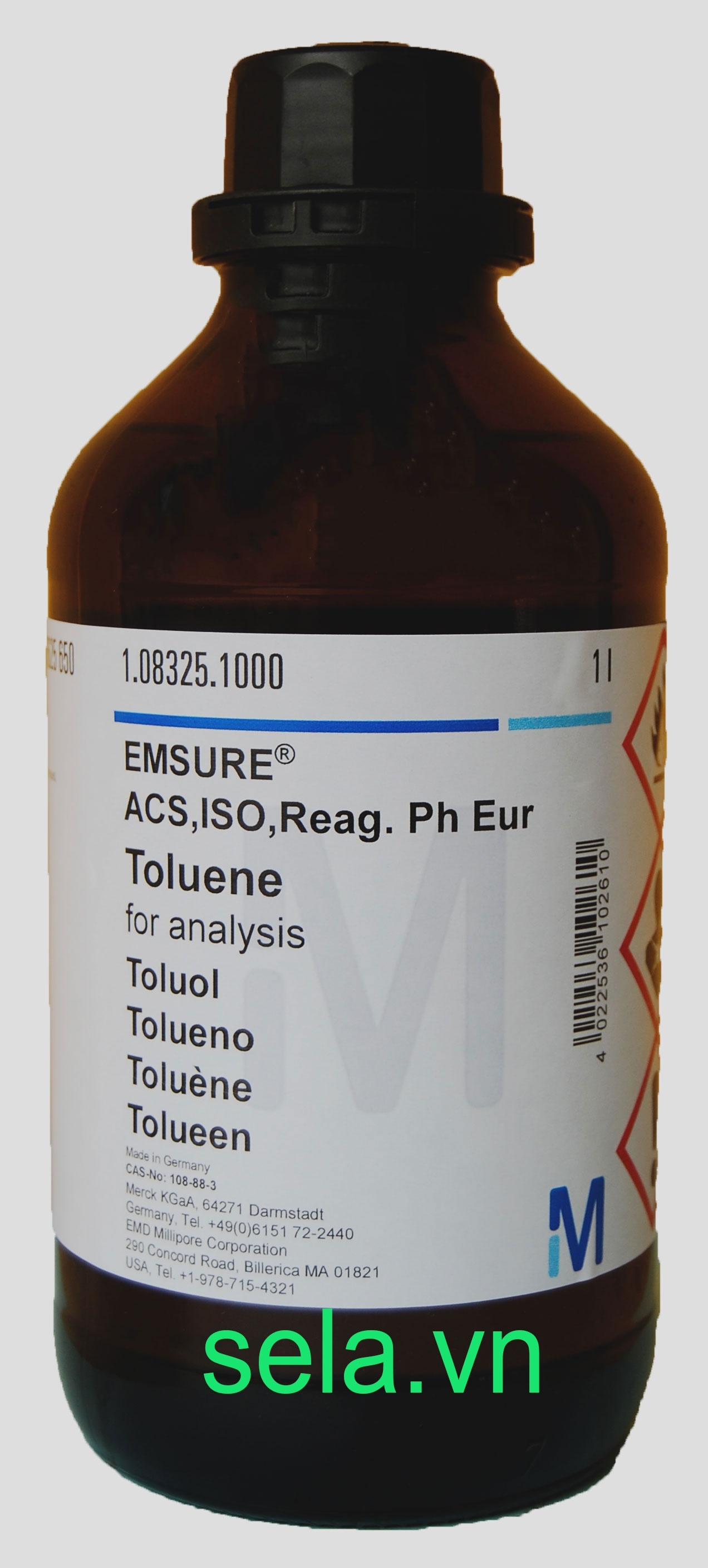 Toluene for analysis EMSURE® ACS,ISO,Reag. Ph Eur