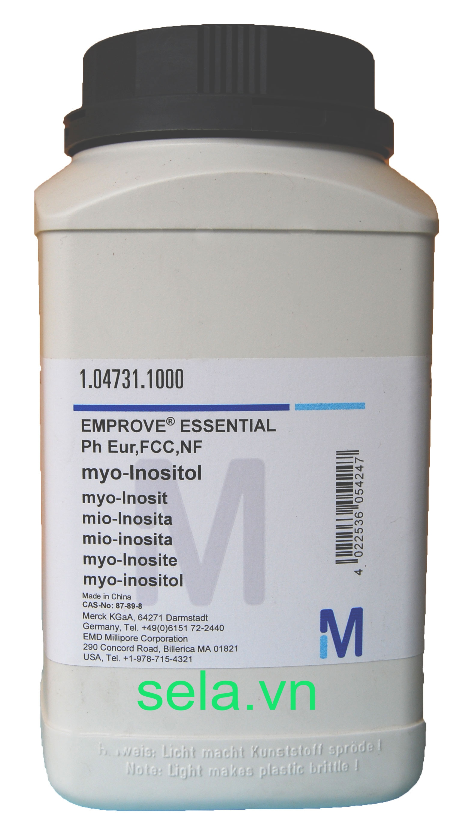 myo-Inositol EMPROVE® ESSENTIAL Ph Eur,FCC,NF