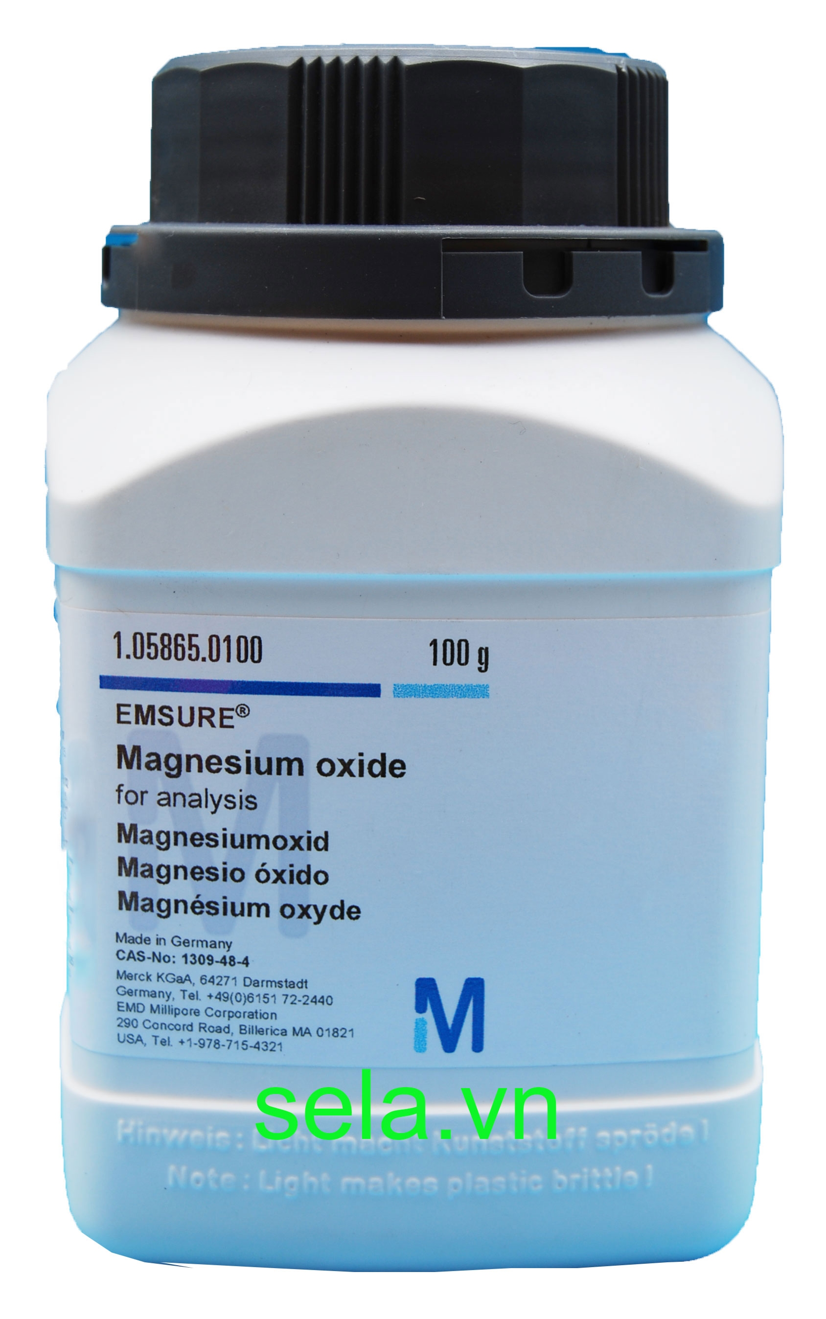 Magnesium oxide for analysis EMSURE®