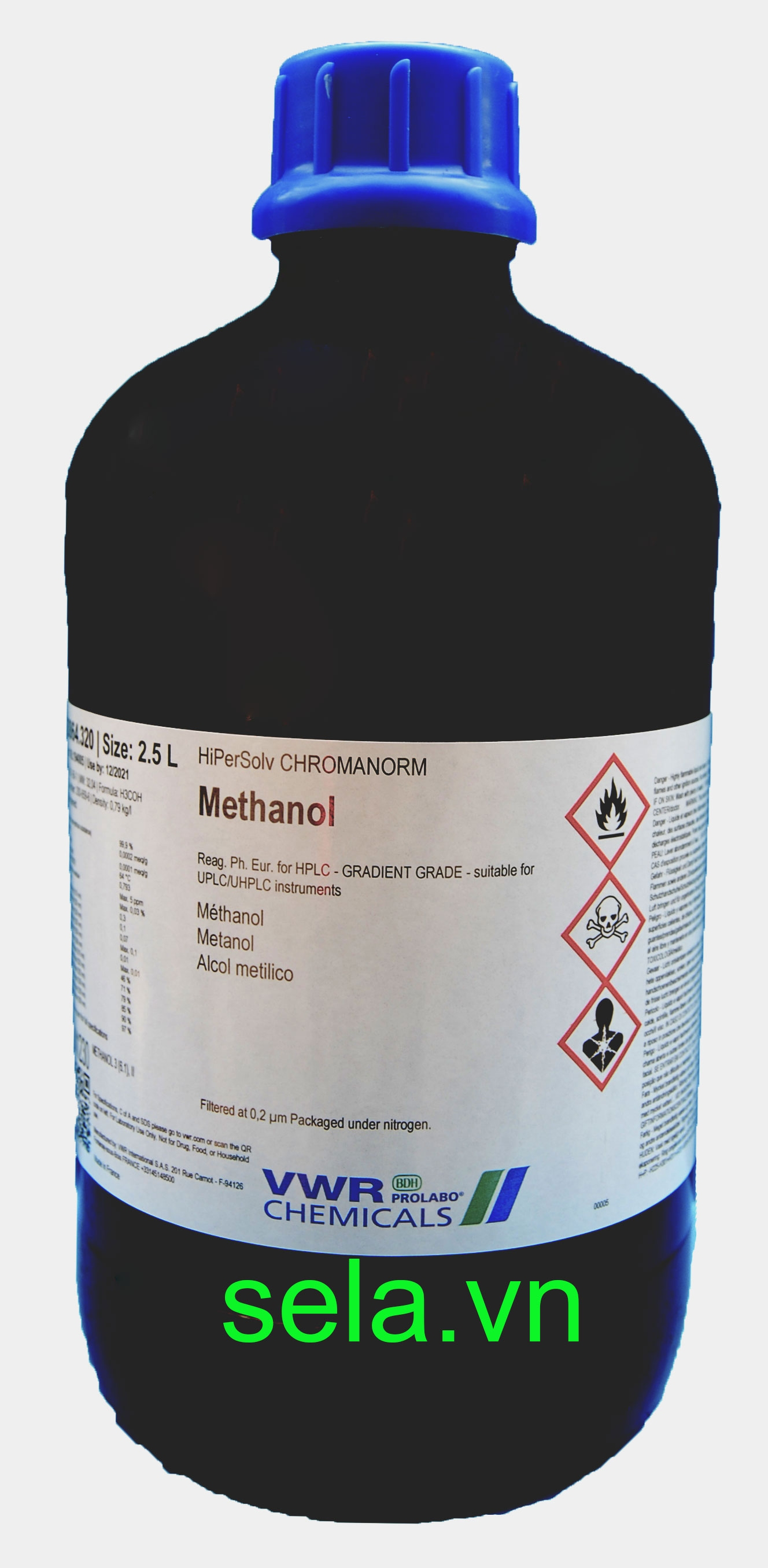 Methanol, HiPerSolv CHROMANORM® gradient for HPLC